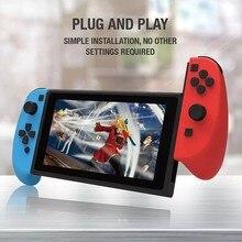Kablolu sol ve sağ Gamepad GP-301 anahtar sevinç oyun con Joystick tak ve çalıştır Nintendo anahtarı için oyun denetleyicisi