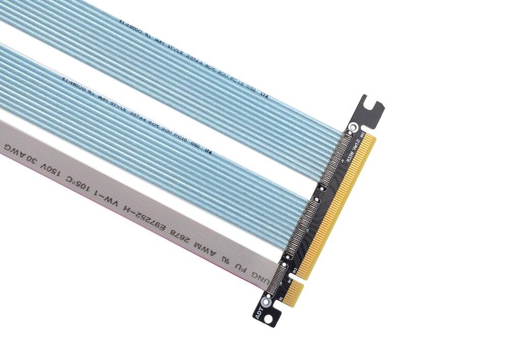 Pcie 4.0x16 gtx3080ti rx5700xt placa gráfica cabo