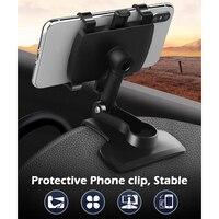 Soporte de teléfono móvil para coche, herramientas de estilismo para coche, para tablero de instrumentos, GPS, iPhone 11, 12