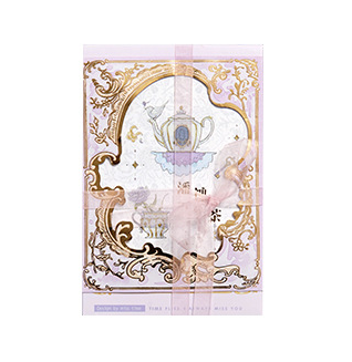 P100- Afternoon Tea Paper Postcard(1pack=30pieces)