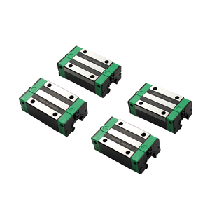 Image 5 - 2PCS HGR20 HGH20 Square Linear Guide Rail Any Length+4PCS Slide Block Carriage HGH20CA /Flang HGW20CC CNC Parts Router Engraving