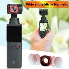 Objectif Ultra grand Angle pour accessoires de paume FIMI Micro filtre magnétique pour accessoires de caméra à cardan FIMI