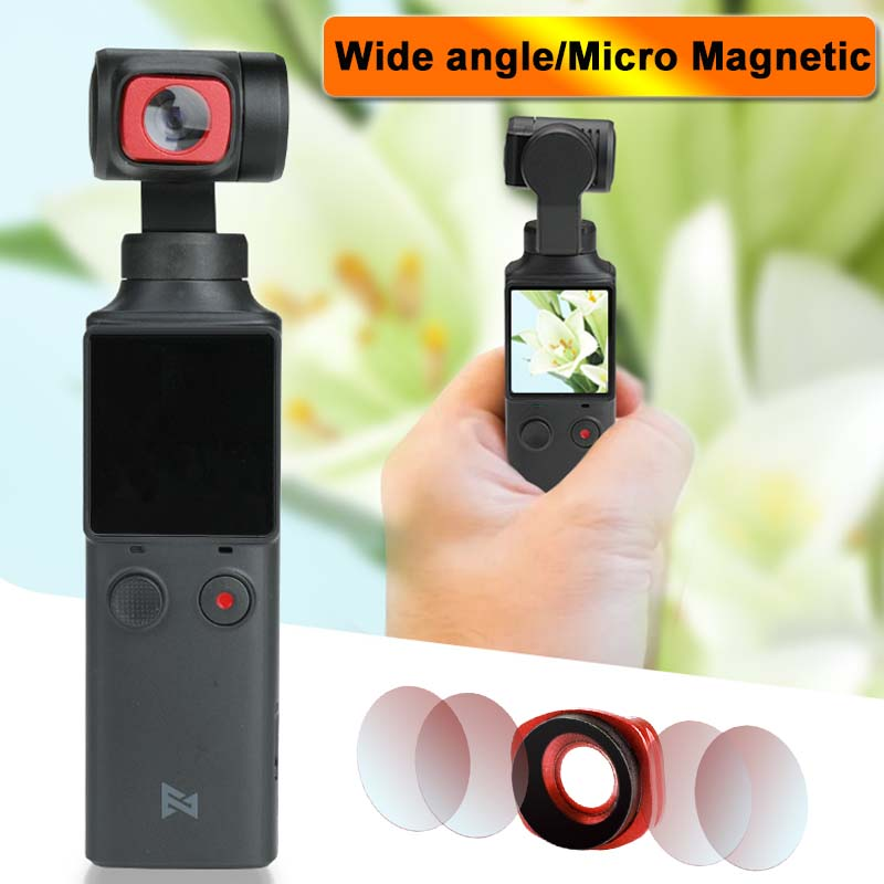 Ultra Wide Angle Lens For FIMI PALM Accessories Magnetic Micro Filter For FIMI PALM Gimbal Camera Accessories