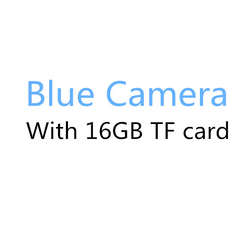Blue with 16GB card