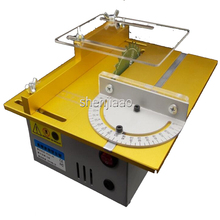 T4 DC12-24V Multifunctional Mini Table Hand Saw Woodworking Lathe Spindle Electric Drill 7000rpm Polishing Slicing Saw