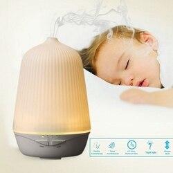 Ultradźwiękowy oczyszczacz powietrza nawilżacz z funkcją aromaterapii z nocnym światłem olejku aromaterapeutycznego dyfuzor zimny nawilżacz powietrza z U w Nawilżacze powietrza od AGD na