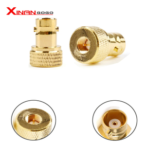 SMA male plug to BNC female jack straight rf connector adapter for Yaesu VX-6R VX-7R VX-8R VXA-220 VXA-300
