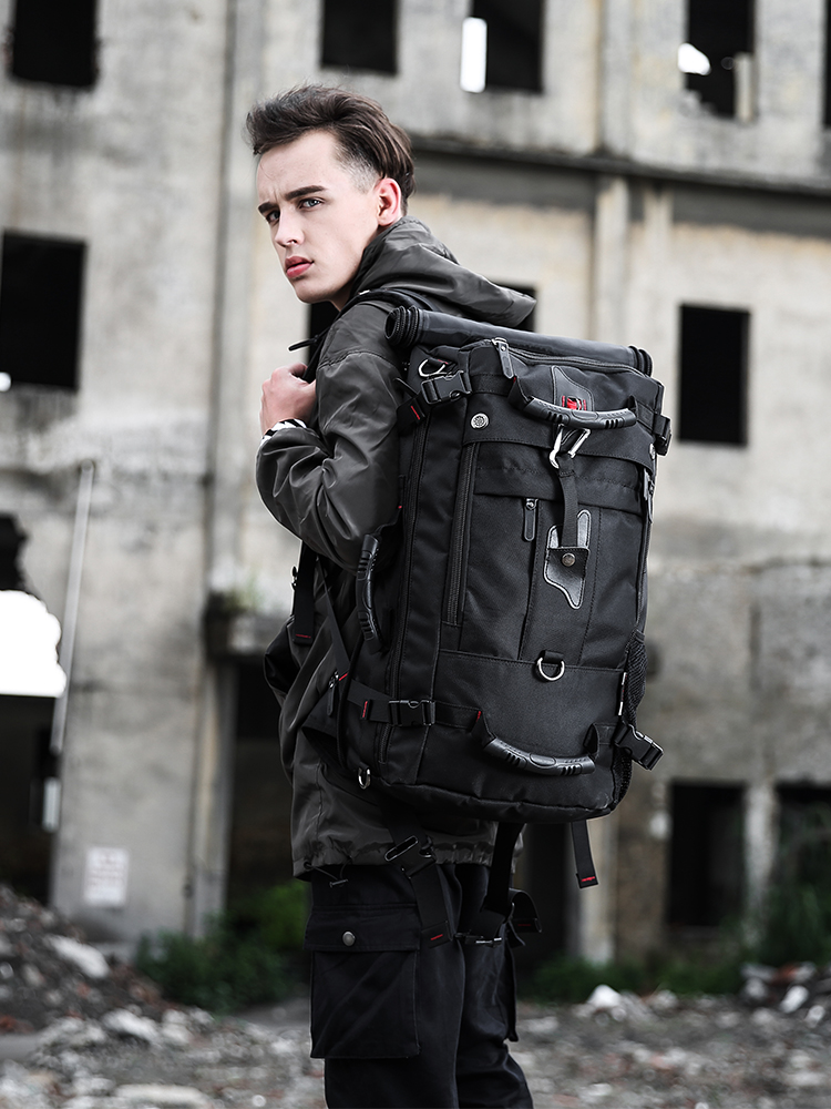 KAKA Laptop Backpacks Luggage-Bag Multifunction Best-Quality Male Waterproof Outdoor