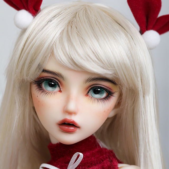 BJD Doll Miyn 1/4 Macaron Magic Ice Cream Girl Ball Jointed Doll Art Collection Toys MSD Size Chirstmas Gift Limited Doll 3