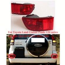 For Toyota Land Cruiser Prado 120 series GRJ120 TRJ120 FJ120 2002-2009 Rear Bumper light 1PCS Fog brake Light Without Bulb