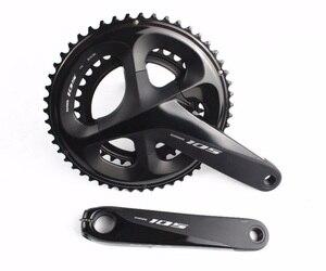 Image 2 - Shimano 105 R7020 R7070 11 속도 유압 디스크 브레이크 그룹 세트 도로 자전거 그룹 세트 RT700 로터