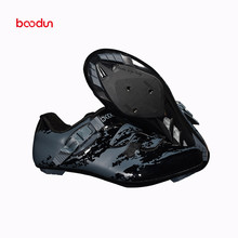 BOODUN new lock shoes mountain road bike shoes super light breathable non-slip outdoor professional bicycle racing lock shoes boodun breathable mountain cycling shoes leisure sports outdoor mtb road bike bicycle lock riding shoes women