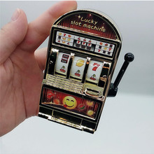 Slot-Machine Gag Toys Games Bank Replica Antistress-Toys Christmas-Gifts Lucky-Jackpot