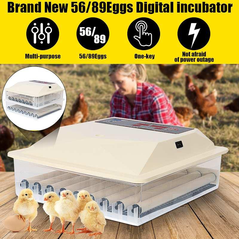 Яйца автоматический инкубатор яиц ЖК цифровой фермы инкубатория машина мини инкубатор курица птицы перепелиные индейки