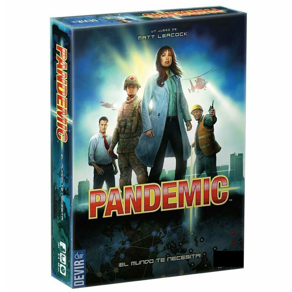 Pandemic Board Game: 2013 Version Z- Man Spiele Plague Legacy Series International Award Winning Game