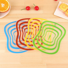 Flexible Transparent Cutting Board Kitchen PP Boards Classification Chopping