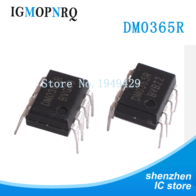 10PCS DM0365R DIP8 DM0365 DIP FSDM0365RN 365R DIP-8 New And Original IC