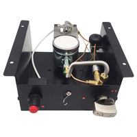 Portable Propane Gas Glass Tube Heater Control Box Intake Air 10mm Outdoor Heater Controller Heating Stove