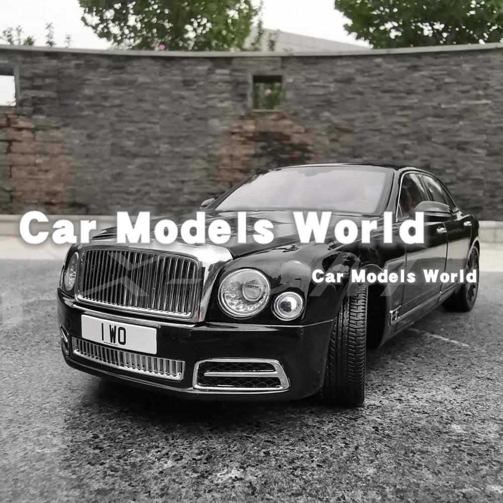 Edition Mulliner Diecast Model Car Gifts 1//18 Almost Real Bentley Mulsanne W.O