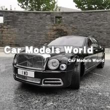 Литая модель автомобиля, почти настоящая Mu lsanne W.O. Издание Mulliner 1:18 + маленький подарок!