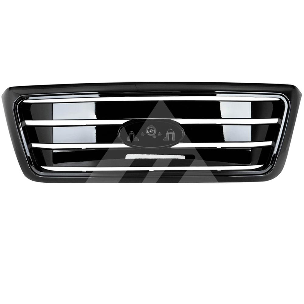 for 2004 2005 <font><b>2006</b></font> 2007 2008 <font><b>Ford</b></font> <font><b>F150</b></font> ABS Black Horizontal Packaged Grille image