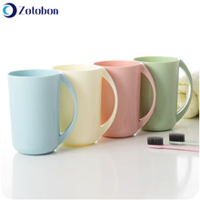 Toothbrush Cup Tumblers Bathroom Plastic Thickened Zotobon-Quality H361 Sold Lovers Simple