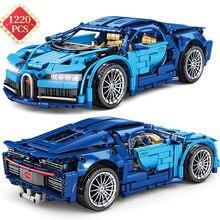 1220 pçs high-tech criador blocos de construção idéias mundialmente famoso carro de corrida tráfego veículo modelo kit tijolos brinquedos para meninos crianças