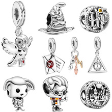 2020 Hot Sale 925 Sterling Silver Charms Harry Series Beads Fit Original Pandora Bracelet Jewelry Making Gift 16 Types