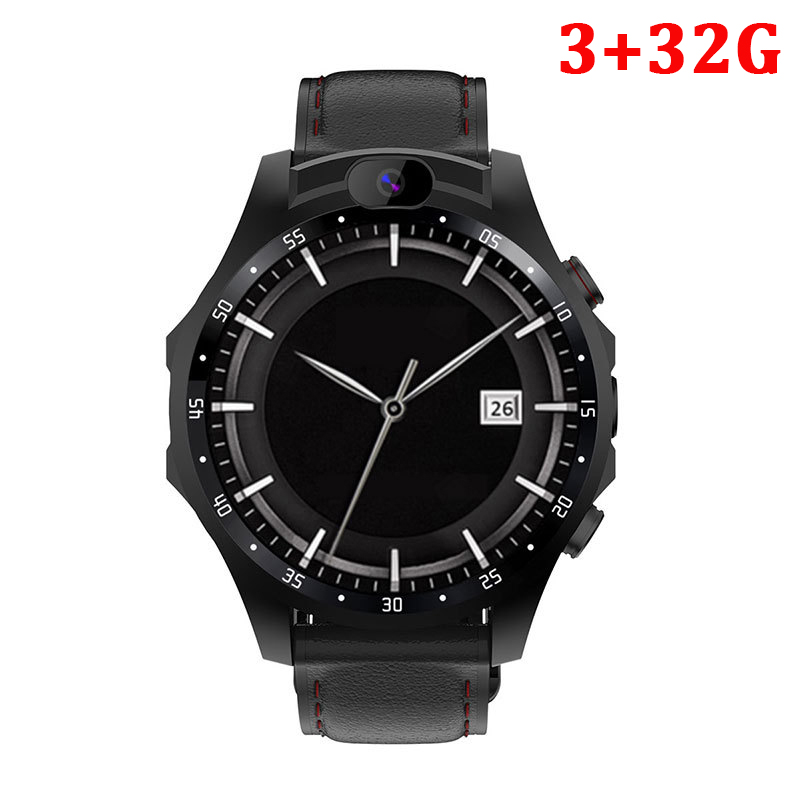 fashion 4G Smart Watch GPS With Heart rate Monitor ECG Blood Pressure IP67 Fitness Tracker Wrisatband SmartWatch App Download image