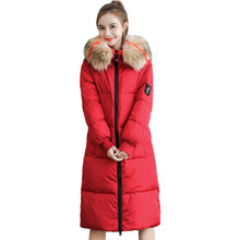 New high quality womens winter jacket simple cuff design windproof warm female coats fashion brand parka Female Plus Size XL-7XL(China)