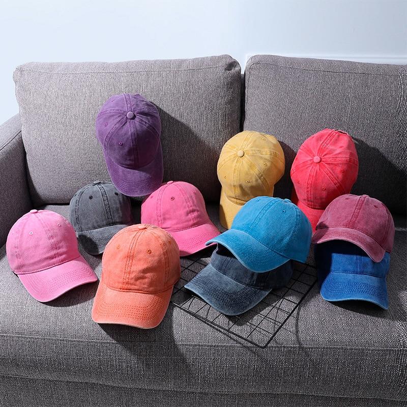 women's cap men's cap dad hat wholesale solid sport unisex outdoor Custom black cotton gorro bone sports woman cap gorra beisbol