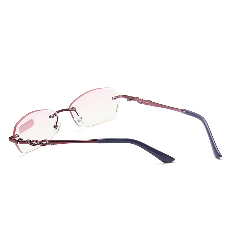 Купить женские очки для чтения без оправы lonsy с диоптриями защитой