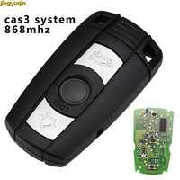 Jingyuqin Fernbedienung Auto Schlüssel 315/433/868MHZ Für BMW 1 3 5 7 Serie CAS3 System X5 x6 Z4 Smart Key Control Sender 3 Tasten