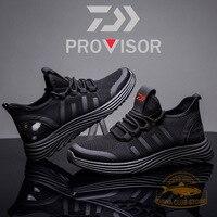 2020 new daiwa 야외 신발 미끄럼 방지 낚시 신발 통기성 신발 운동화 등산 신발 캐주얼 신발 가을 신발 남성