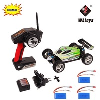 RC Car WLtoys A959 A959 B 2.4G 1/18 Scale Remote Control Off road Racing Car High Speed Stunt SUV Toy Gift For Boy RC Mini Car