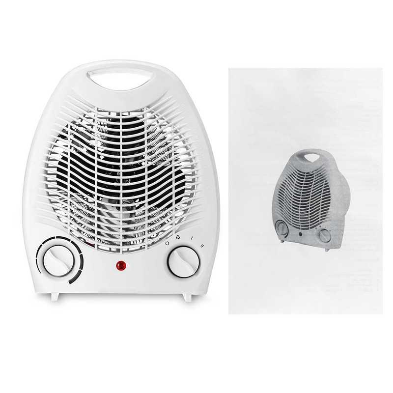 2000W المنزلية سخان مروحة كهربائية ثلاثة إعدادات الحرارة الدافئة الهواء منفاخ التلقائي اسخن حماية مع مثبطات اللهب قذيفة