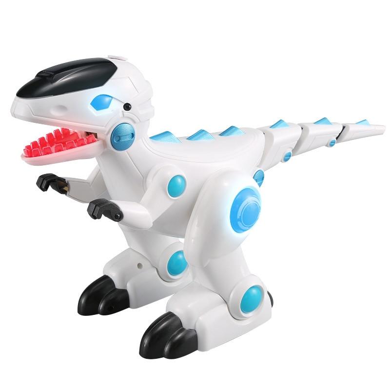 Feng Yuan Remote Control Intelligent Following Coelestinum Model Machine Dinosaur Story Singing Robot Children'S Educational Toy