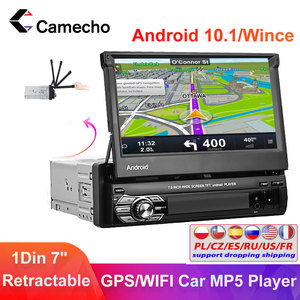 Camcho Car Radio 1 din Android 10.1 Car Stereo 7