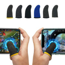 Game-Control Gloves Thumb-Sleeve Finger-Cover Sweat-Proof Touch-Screen Sensitive Gaming-Finger