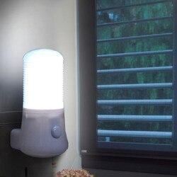 Gran oferta 110-220V LED luz de la noche/US Plug lámpara para niños dormitorio lámpara para pared con enchufe casa decoración lámpara