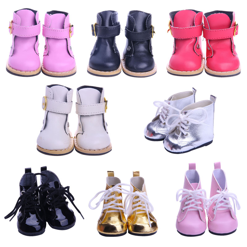 14 Styles Doll Shoes High-top Boots Clothes Accessories For 18 Inch American&43 Cm Born Baby Generation Birthday Girl's Toy Gift