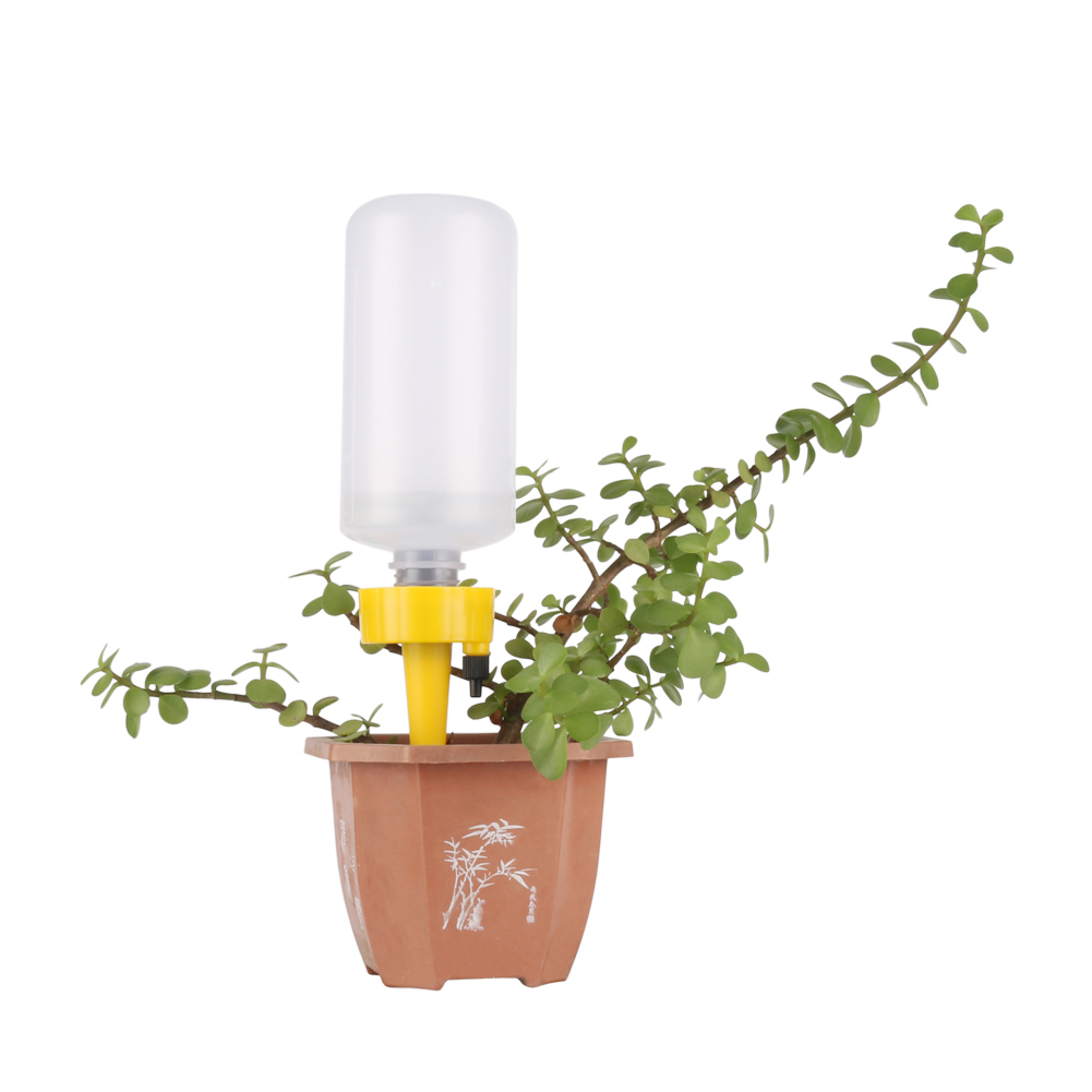 Adjustable Automatic Drip Irrigation System Plant Waterers DIY Automatic Self Watering Spiked Drip Device 500ML Squeeze Bottle