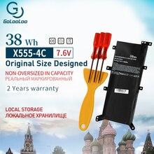 Golooloo C21n1347 מחשב נייד סוללה עבור Asus X555L X555 X554L F555A A555L W519L VM590LF Y583LD K555L 38WH 7.6V מברג סוללה