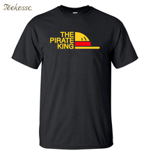 New Brand One Piece T-Shirt Men The Pirate King T Shirt Mens Luffy Tshirt Summer