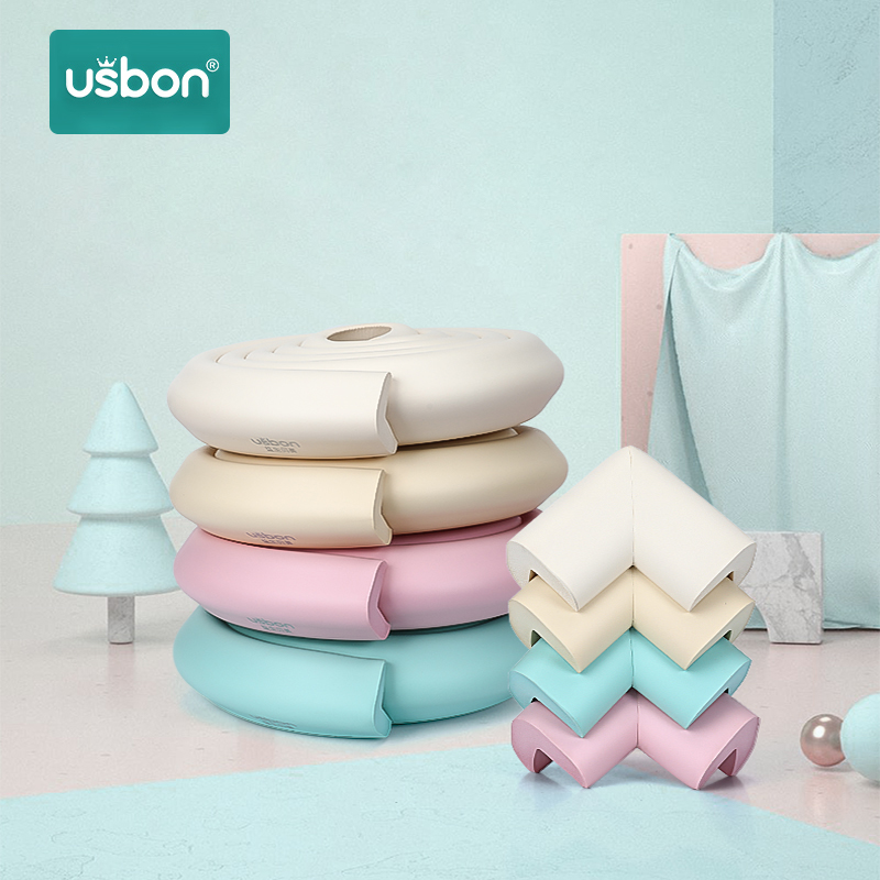 Usbon 1PC 2M Baby Safety Table Desk Edge Guard Strip Home Cushion Guard Strip Safe Protection Children Bar Strip Soft Thicken