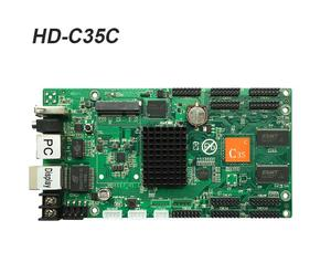 Image 4 - WERALED הבחירה הראשונה Huidu Asynchronization HD C15/HD C15C/HD C35 מלא צבע LED וידאו כרטיס, יכול להוסיף אלחוטי WIFI/3G/4G מודולרי