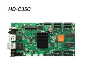 Image 4 - Werted الخيار الأول Huidu HD C15 غير المتزامنة/HD C15C/HD C35 بطاقة الفيديو LED بالألوان الكاملة ، يمكن إضافة وحدات لاسلكية واي فاي/3G/4G