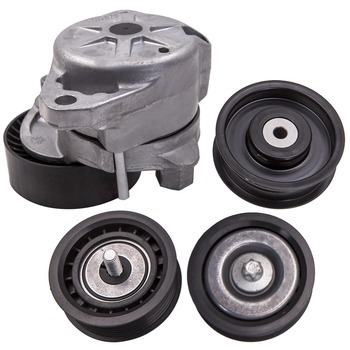 Drive Belt Tensioner Pulley 3 Idler Pulley for Mercedes C300 C350 E350 ML350 2722020719 2722000070