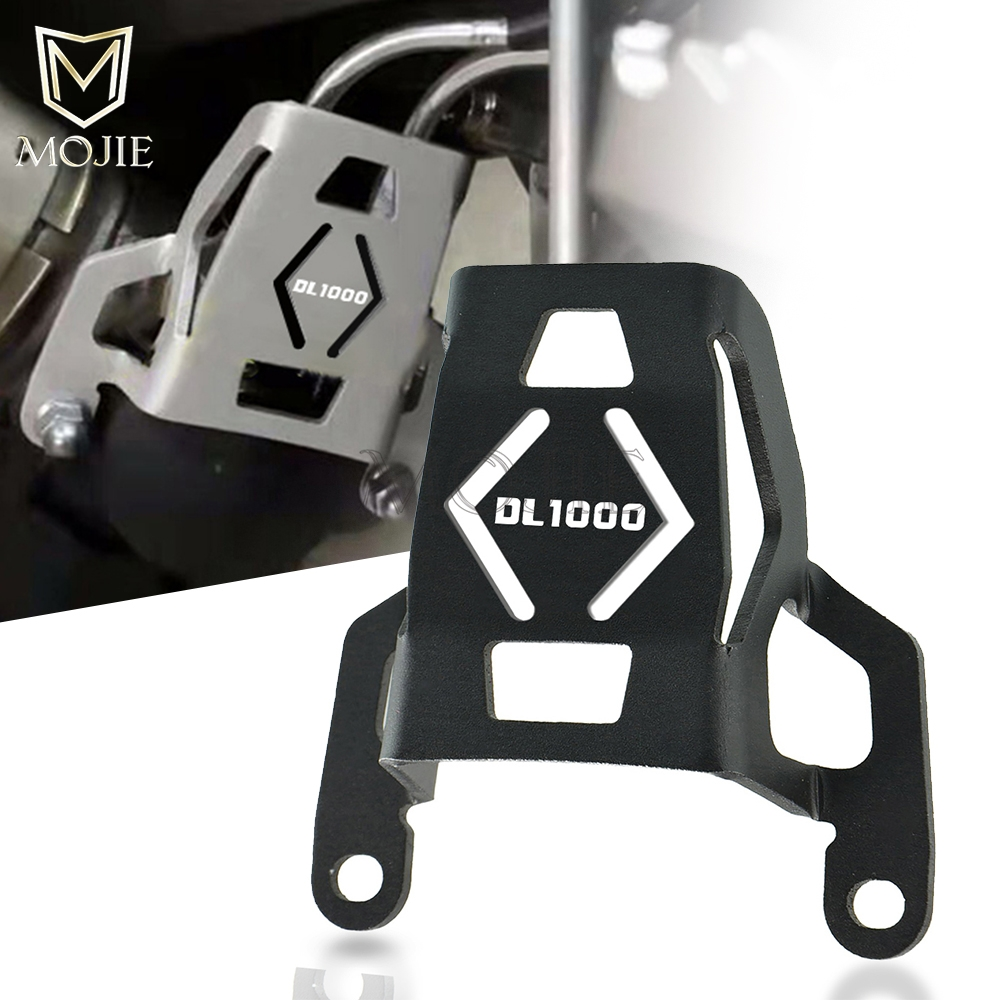 Motorcycle CNC Aluminum Exhaust Flap Guard Cover Protector For Suzuki <font><b>DL1000</b></font> DL 1000 V-Strom <font><b>VStrom</b></font> 1000 V-Strom1000 2015-2019 image