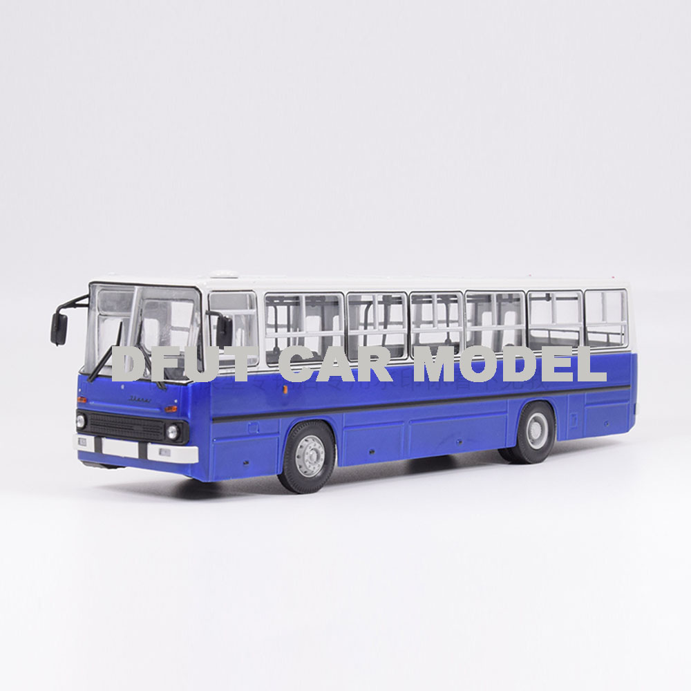 1:43 Scale Alloy Toy Russia 260 BUS Model Of Children's Toy Car Original Authorized Authentic Kids Toys